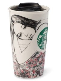 Charlotte Ronson specially designed mug for Starbucks