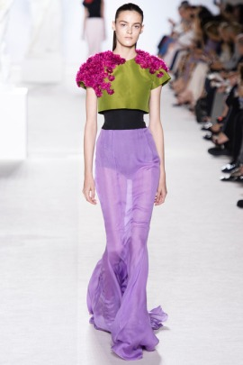 Giambattista, paris, couture, fashion week, beauty flowers, valli, new york, beauty, mac cosmetics, runway collections, fall 2013, italy